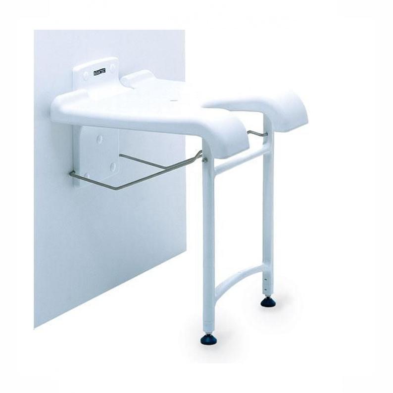 sedia doccia murale sendibile